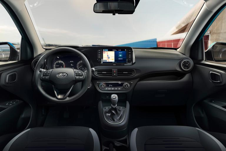 Hyundai i10 Air, Twist en Twist Technopack interieur Obsidian Black