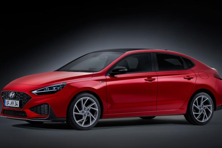 New Hyundai i30 Fastback N-Line 2020 front